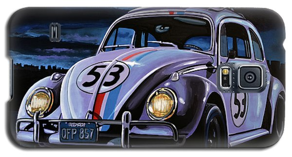 Herbie The Love Bug Painting Galaxy S5 Case