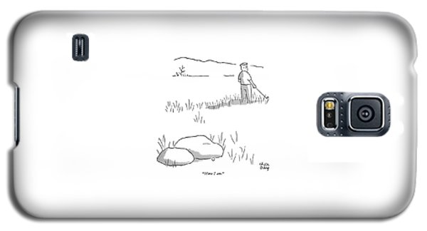 Here I Am Galaxy S5 Case