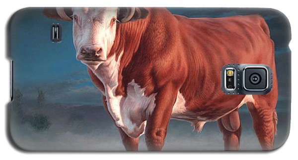 Hereford Bull Galaxy S5 Case