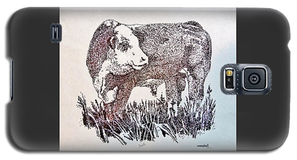 Polled Hereford Bull  Galaxy S5 Case