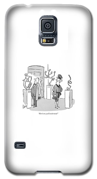 Sport Art Galaxy S5 Case - Here's One You'll Understand by Claude Smith