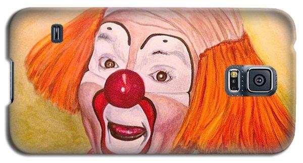 Watercolor Clown #9 Herky The Clown Galaxy S5 Case