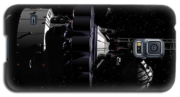 Galaxy S5 Case featuring the digital art Hermes1 In Route Wih Only Stars To Guide You by David Robinson