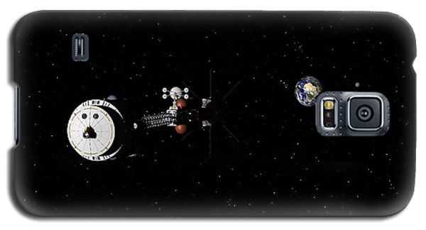 Galaxy S5 Case featuring the digital art Hermes1 Leaving Earth Part 2 by David Robinson