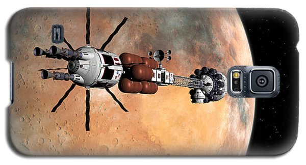Galaxy S5 Case featuring the digital art Hermes1 Mars Insertion Part 1 by David Robinson