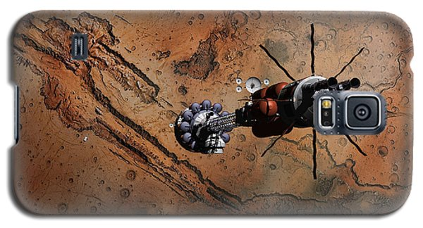 Hermes1 With The Mars Lander Ares1 In Sight Galaxy S5 Case