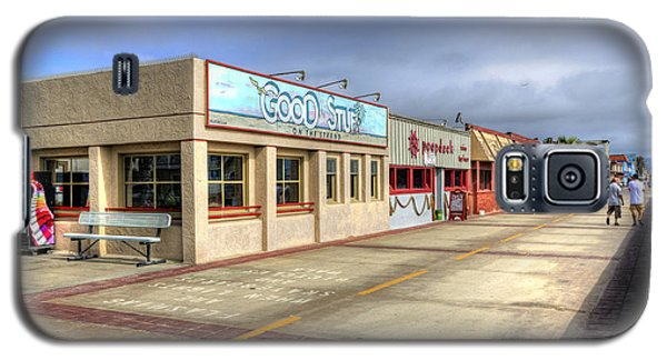 Hermosa Beach Boardwalk Galaxy S5 Case