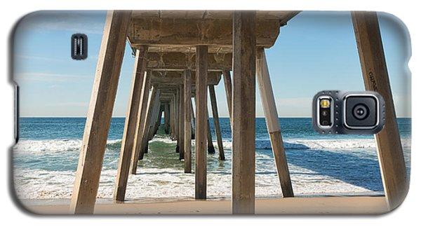 Hermosa Beach Pier Galaxy S5 Case by Ana V Ramirez