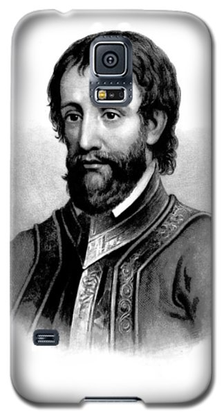 Galaxy S5 Case featuring the photograph Hernando De Soto, Spanish Conquistador by British Library