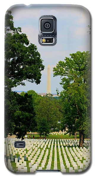 Heroes And A Monument Galaxy S5 Case by Patti Whitten