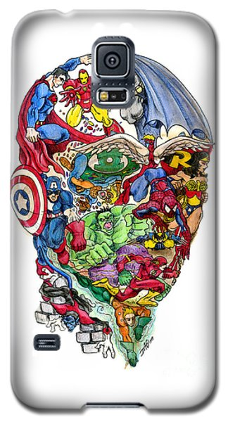 Surrealism Galaxy S5 Case - Heroic Mind by John Ashton Golden