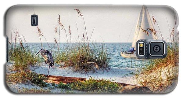 Heron And Sailboat Galaxy S5 Case