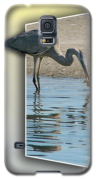 Heron And Sea-horse Galaxy S5 Case