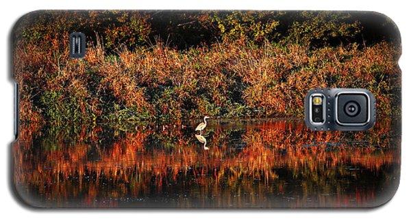 Heron Hideaway Galaxy S5 Case by Elizabeth Winter