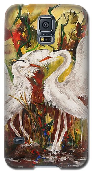 Heron Meeting Galaxy S5 Case