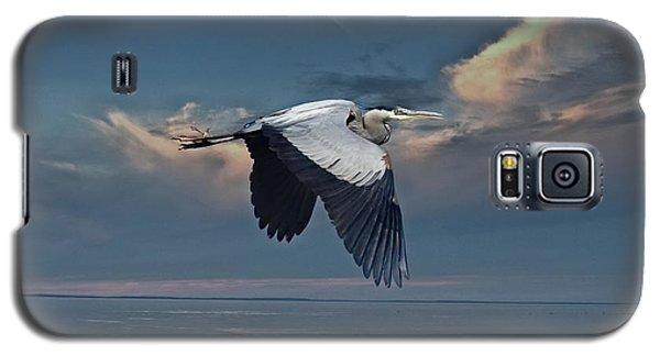 Heron Night Flight  Galaxy S5 Case