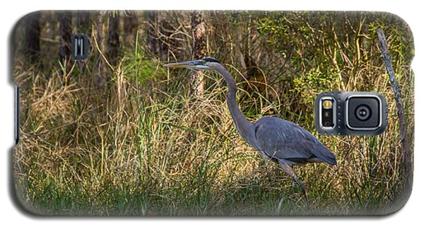 Heron On The Hunt Galaxy S5 Case