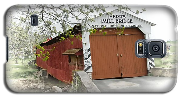 Herr's Mill Historic Bridge Galaxy S5 Case