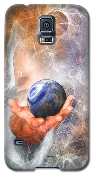 He's Got The Whole World In His Hand Galaxy S5 Case