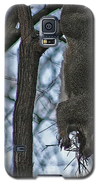Hey I'm Upside Down Galaxy S5 Case by D Wallace