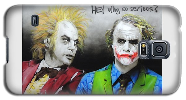 Hey, Why So Serious? Galaxy S5 Case