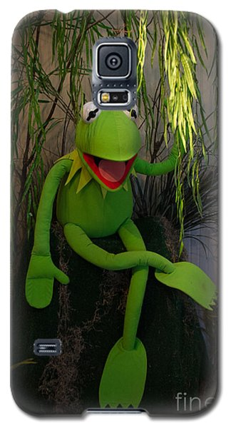 Hi Ho  Kermit The Frog Here  Galaxy S5 Case by Jim McCain