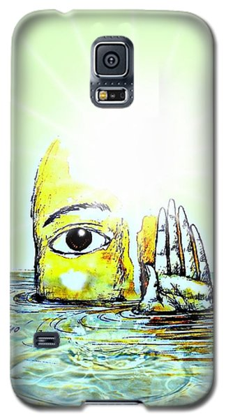 Hi I Am Your Conscience Galaxy S5 Case