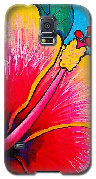 Hibiscus 01 Galaxy S5 Case