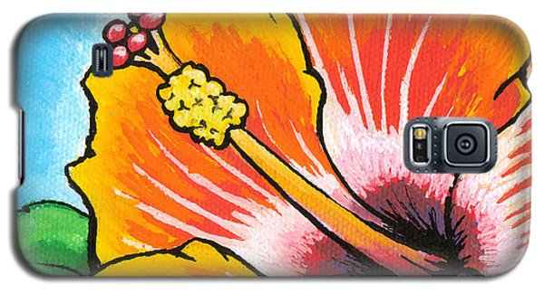 Hibiscus 04 Galaxy S5 Case