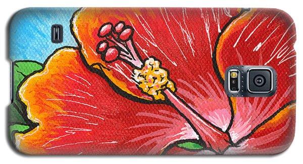 Hibiscus 06 Galaxy S5 Case