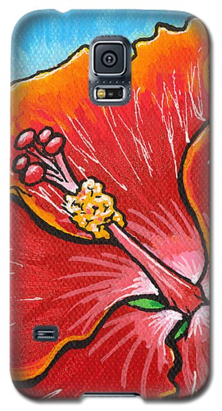 Hibiscus 06 Galaxy S5 Case