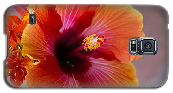 Hibiscus 3 Galaxy S5 Case by Sally Simon