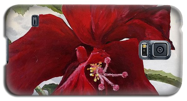 Double Hibiscus Galaxy S5 Case by Alan Lakin