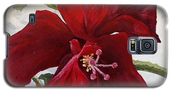 Double Hibiscus Galaxy S5 Case