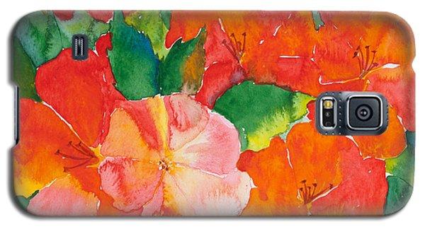 Hibiscus Flowers Galaxy S5 Case