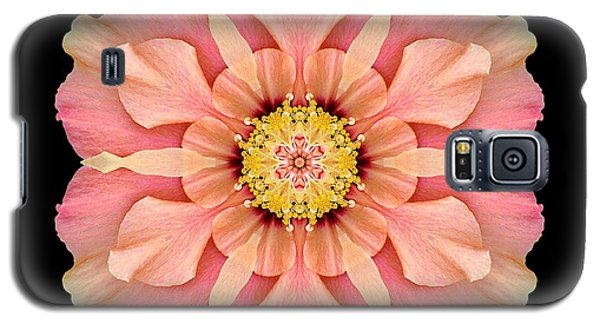 Galaxy S5 Case featuring the photograph Hibiscus Rosa-sinensis I Flower Mandala by David J Bookbinder