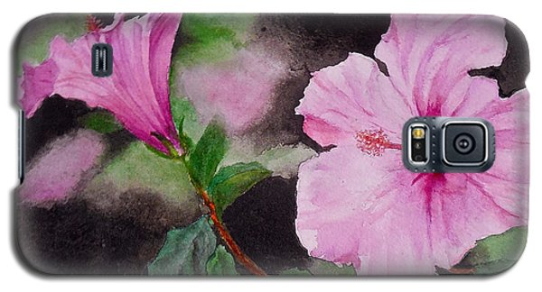 Hibiscus - So Pretty In Pink Galaxy S5 Case