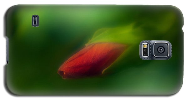 Hibiscus Softly 1 Galaxy S5 Case by Travis Burgess