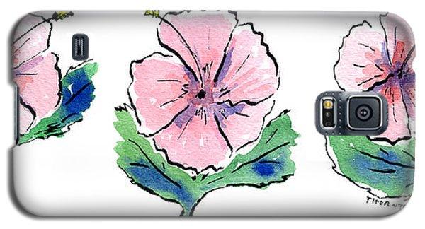 Hibiscus Trio Galaxy S5 Case