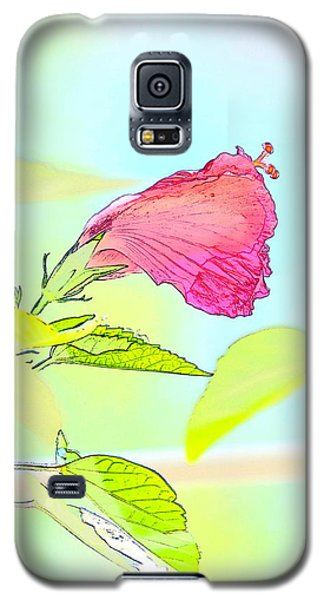 Hibiscus Unbloomed Galaxy S5 Case