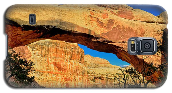 Galaxy S5 Case featuring the photograph Hickman Bridge by Greg Norrell