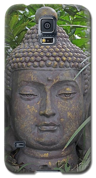 Galaxy S5 Case featuring the photograph Hidden Buddha by Dodie Ulery