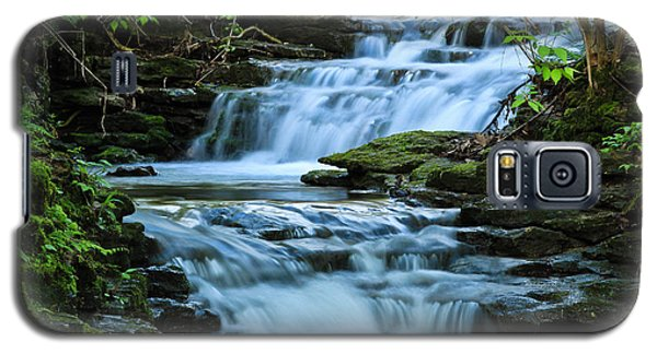 Galaxy S5 Case featuring the photograph Hidden Falls by Julie Andel