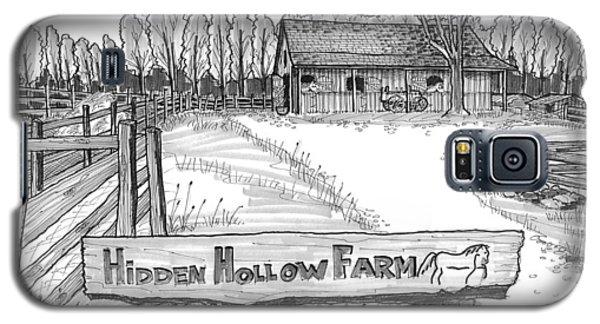 Hidden Hollow Farm 1 Galaxy S5 Case