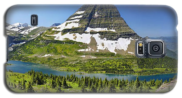 Galaxy S5 Case featuring the photograph Hidden Lake In Glacier National Park by Sebastien Coursol