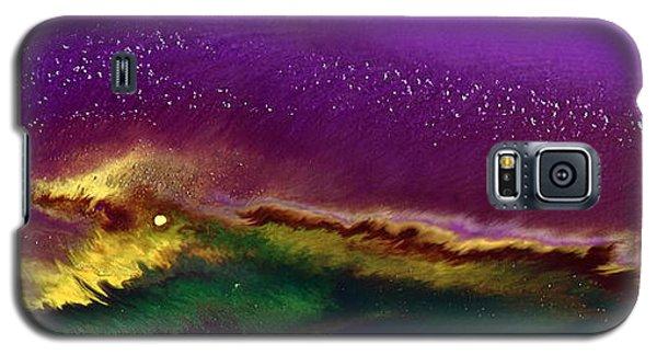 Hidden Moon Fluid Art By Kredart Galaxy S5 Case