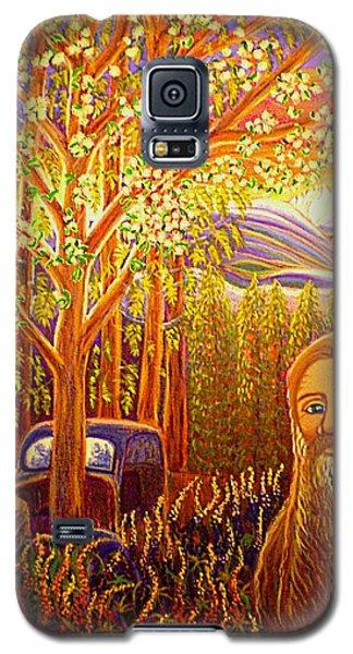 Hidden Mountain Man Galaxy S5 Case