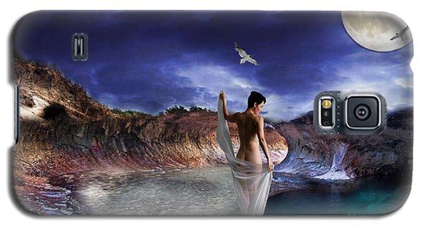 Galaxy S5 Case featuring the digital art Hidden River by Liane Wright