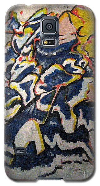 Galaxy S5 Case featuring the painting Hidden Treasure by Wendy Coulson