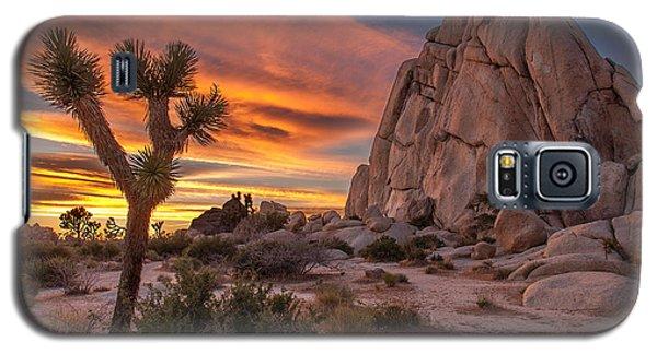 Hidden Valley Rock - Joshua Tree Galaxy S5 Case by Peter Tellone